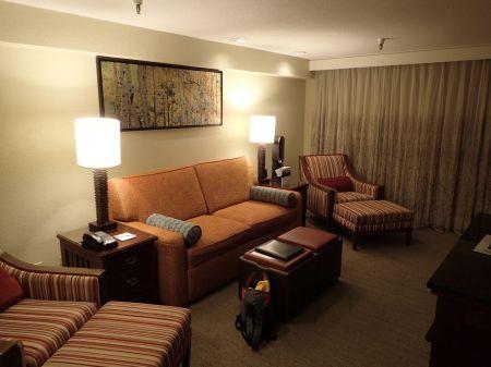 Marriott's Mountain Valley Lodge at Breckenridge 滞在したリゾートホテル。夫婦二人では大きすぎて居心地が悪い。